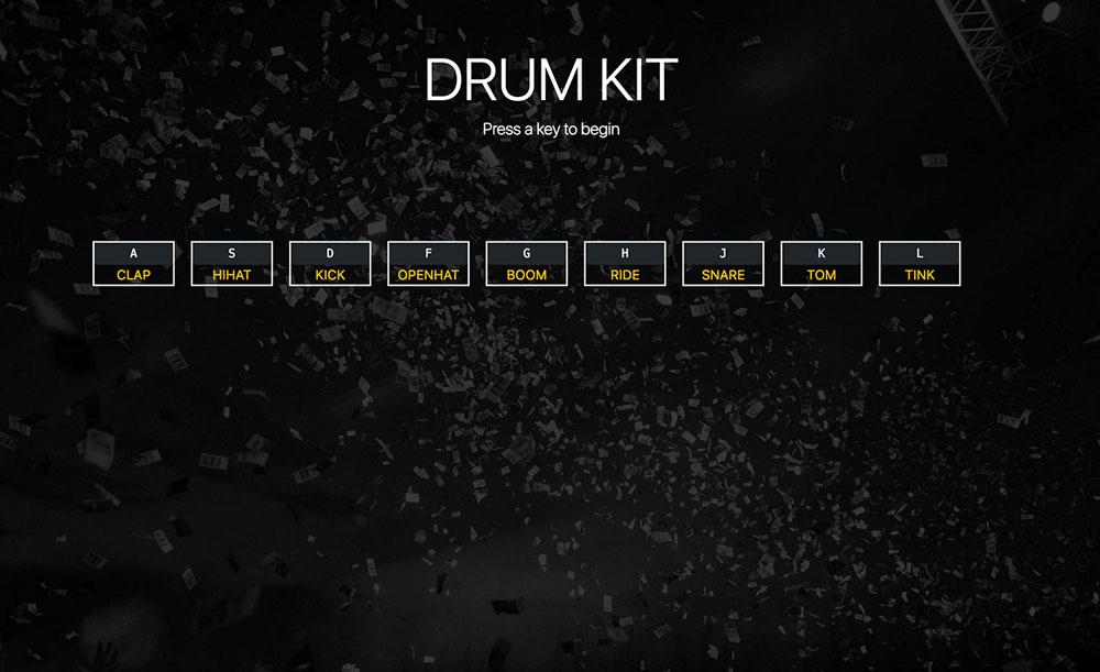 Keyboard Drumkit