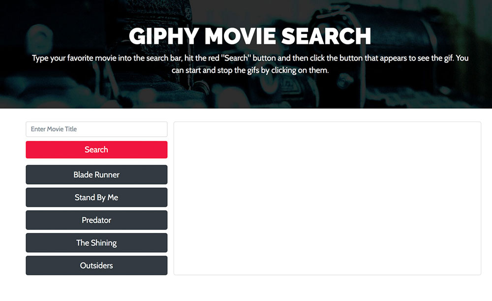 Giphy Search